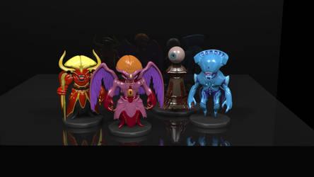 Demon Figures | The Ancient Gods, Part I