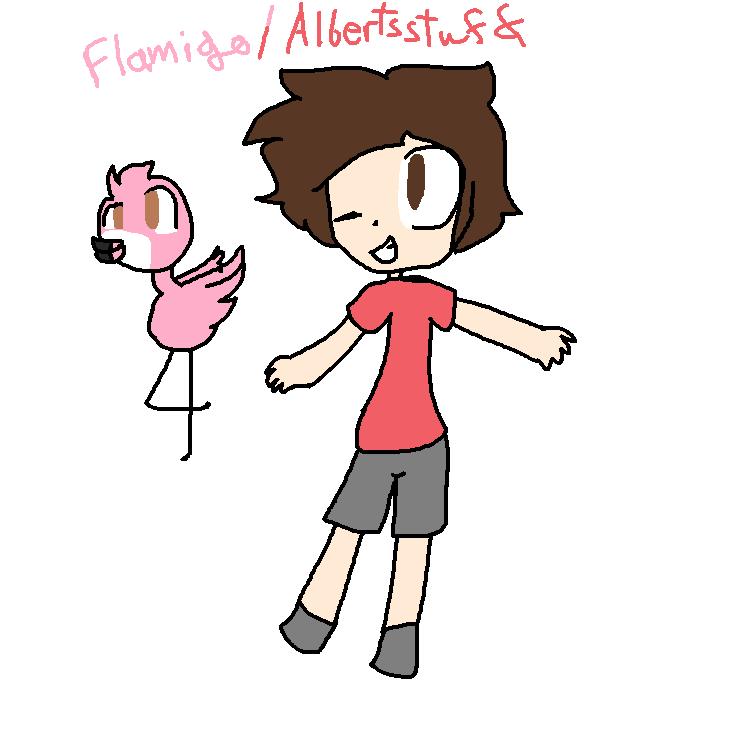 Flamingo/Albertsstuff (Fanart) by StoryShiftCharaGamin