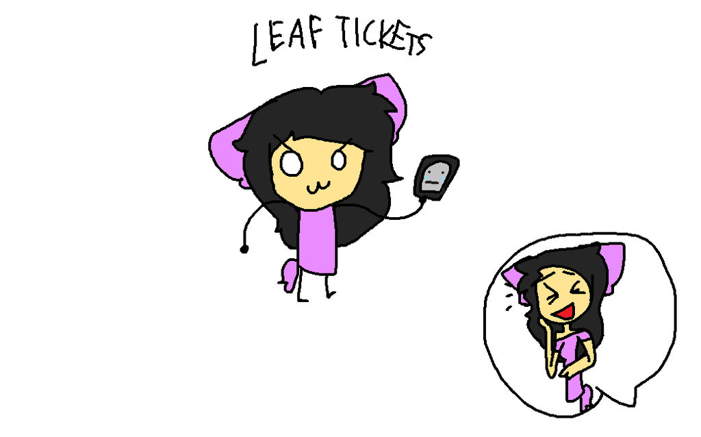 Leaf Tickets by StoryShiftCharaGamin