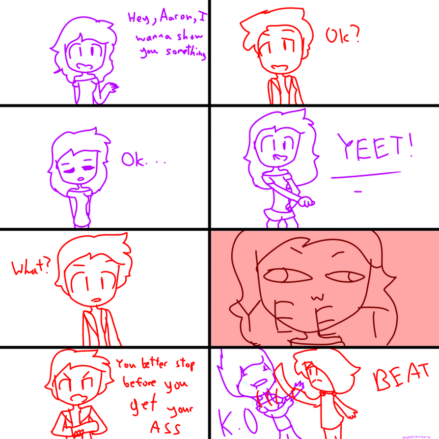 Aphmau Hits That Yeet by StoryShiftCharaGamin