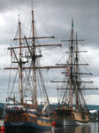 A Pair of Tall Ships