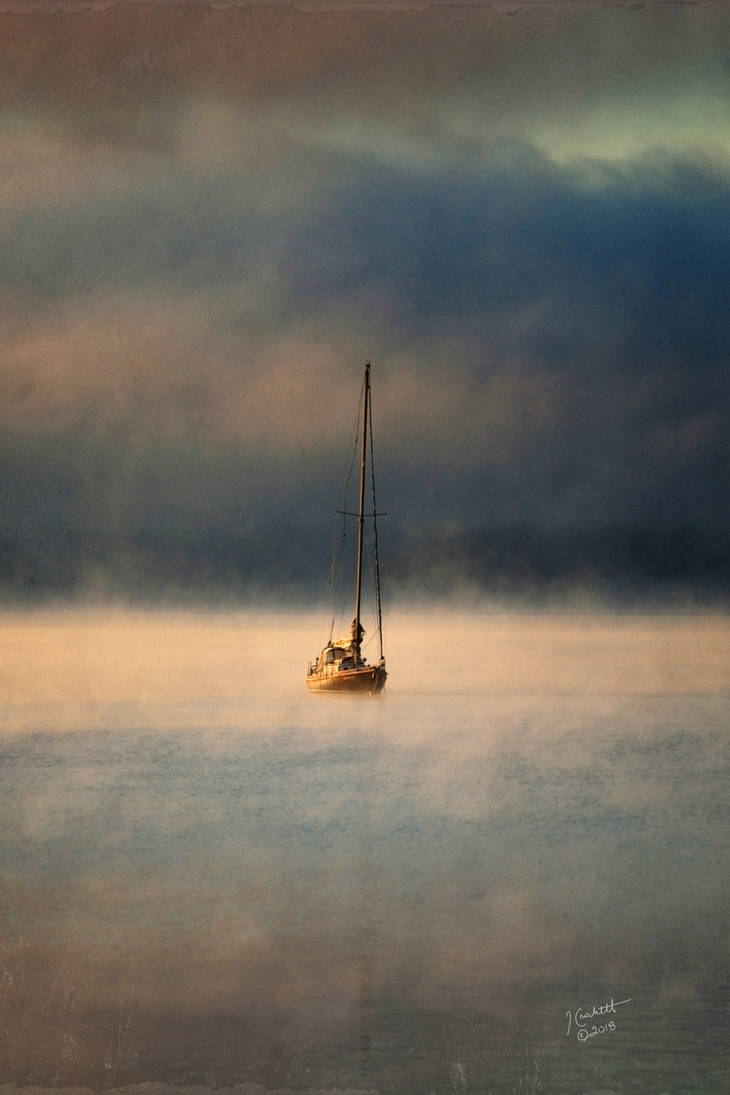 Fog on the Water by TruemarkPhotography
