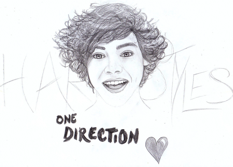 harry styles coloring pages - harry styles from one direction free coloring pages