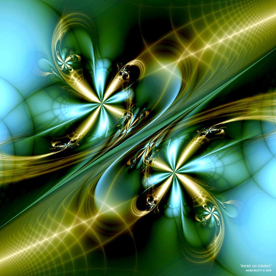 Awry in Green by 2BORN02B