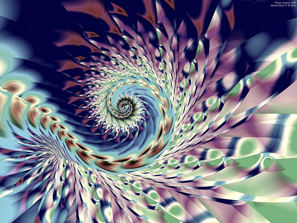 Viral Spiral #78 by 2BORN02B