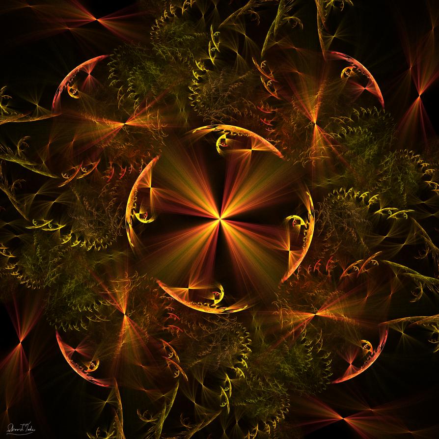 Golden Fire by shanblue