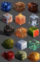 Material Studies by CorvusHound
