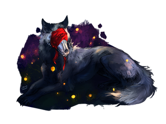 Night Lights by CorvusHound