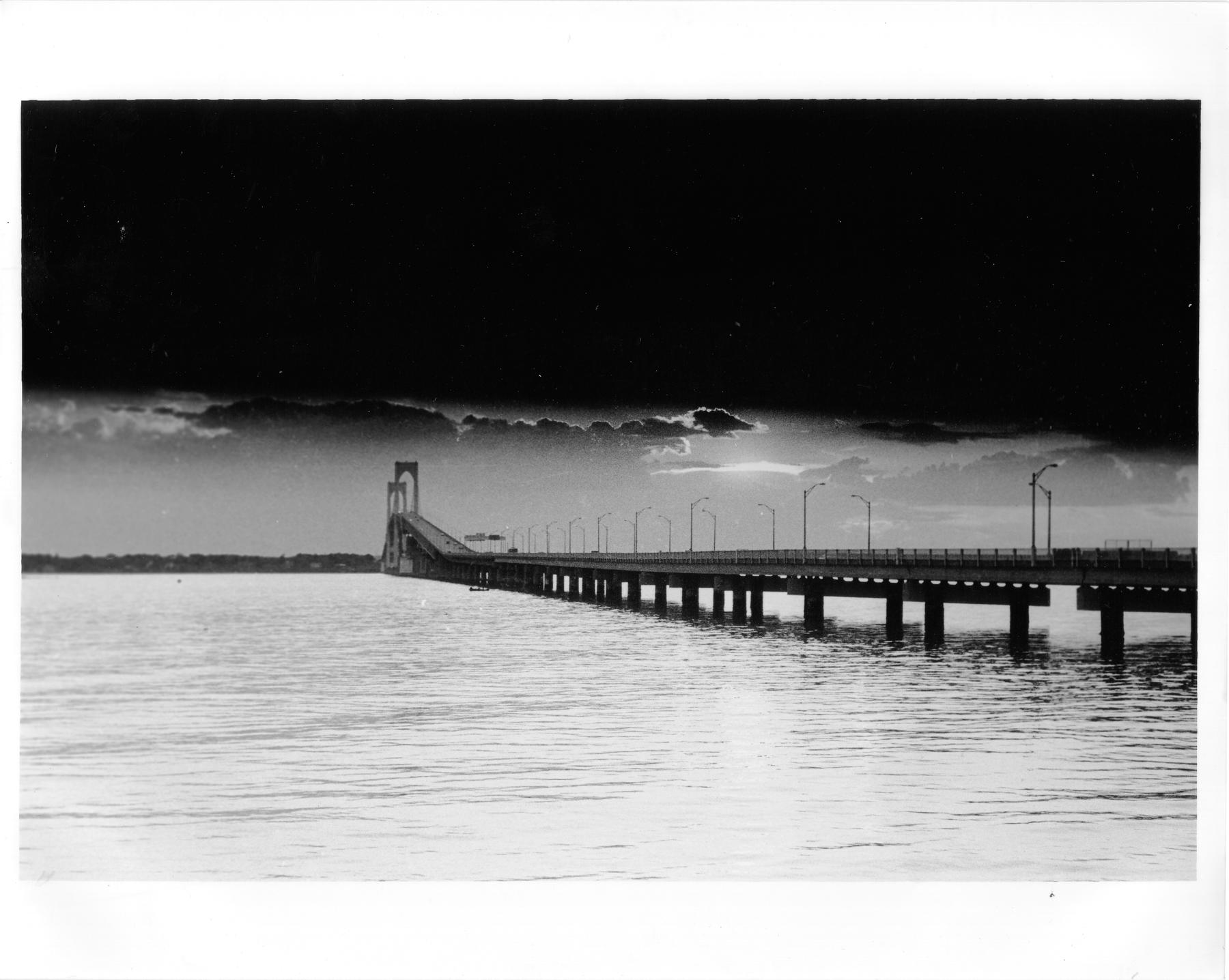 Newport Bridge. by Vestiphobia