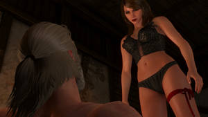 Sexy Girl 4k The Witcher 3