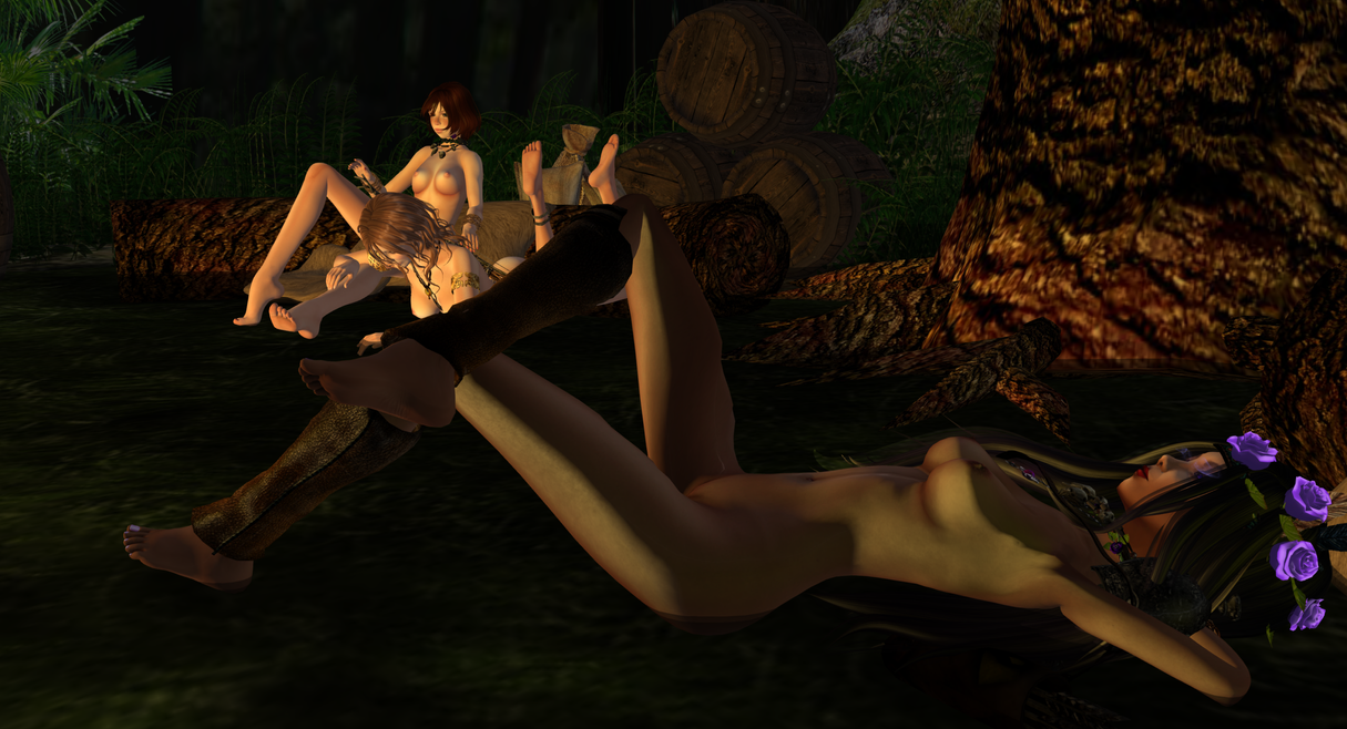 Panther camp and Naked by MillianaRose