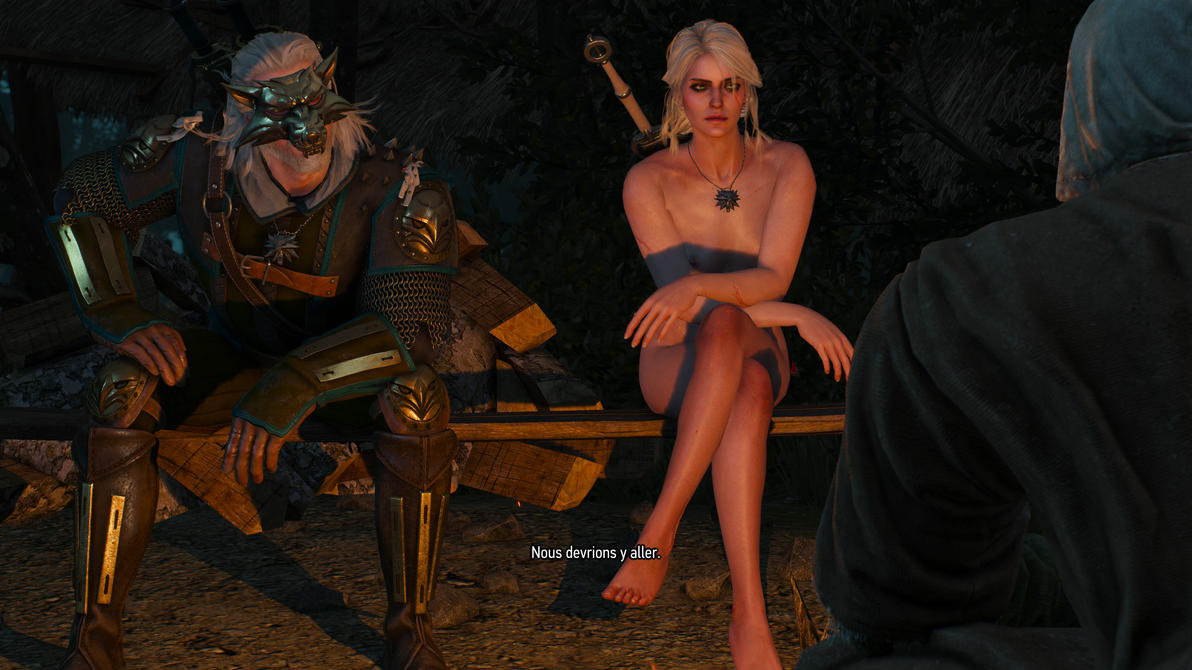 The Witcher 3 Ciri feel comfy ! by MillianaRose