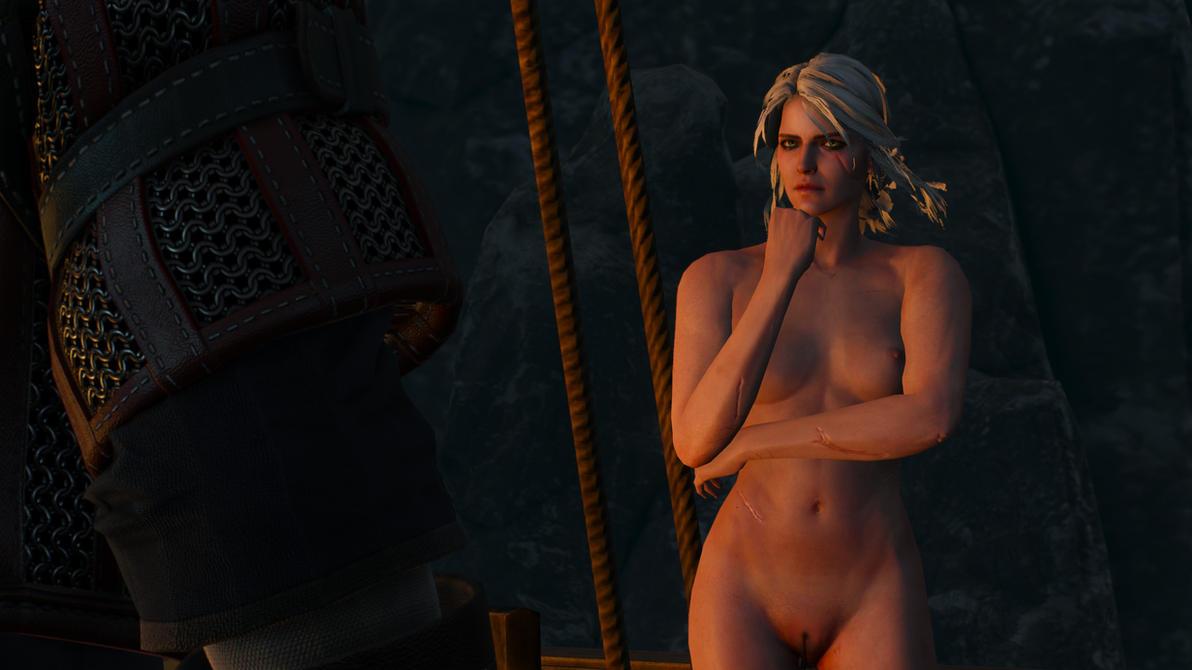 Witcher 3 Bonus Ciri naked by MillianaRose
