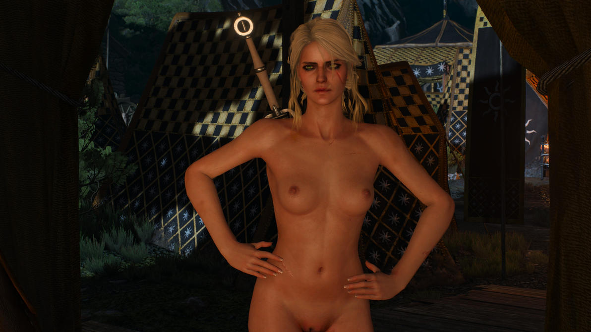 Witcher 3 Naked Ciri by MillianaRose