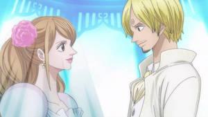Wedding Sanji and Pudding
