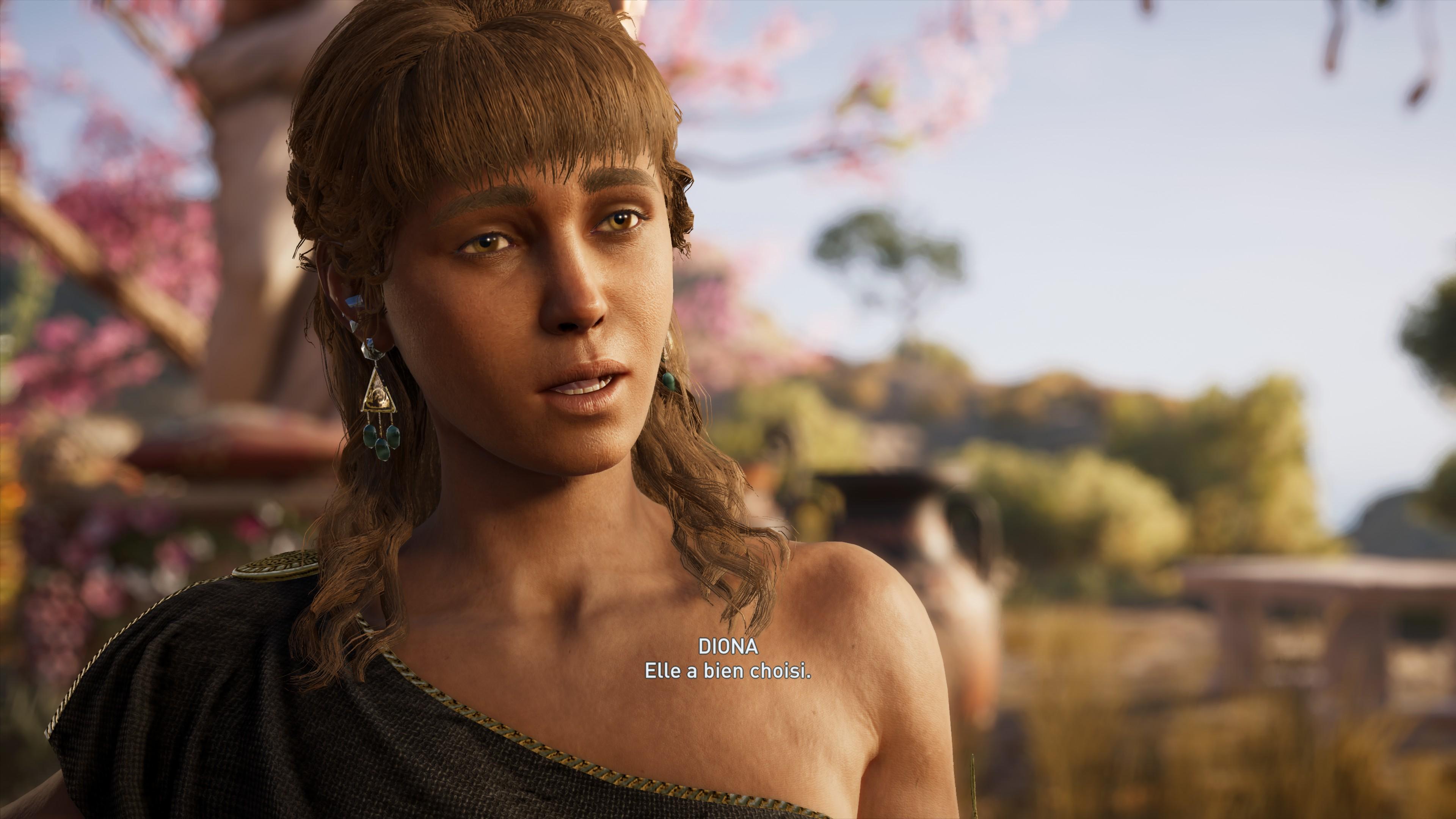 AC Odyssey: Diona - Romance - Assassins Creed Odyssey