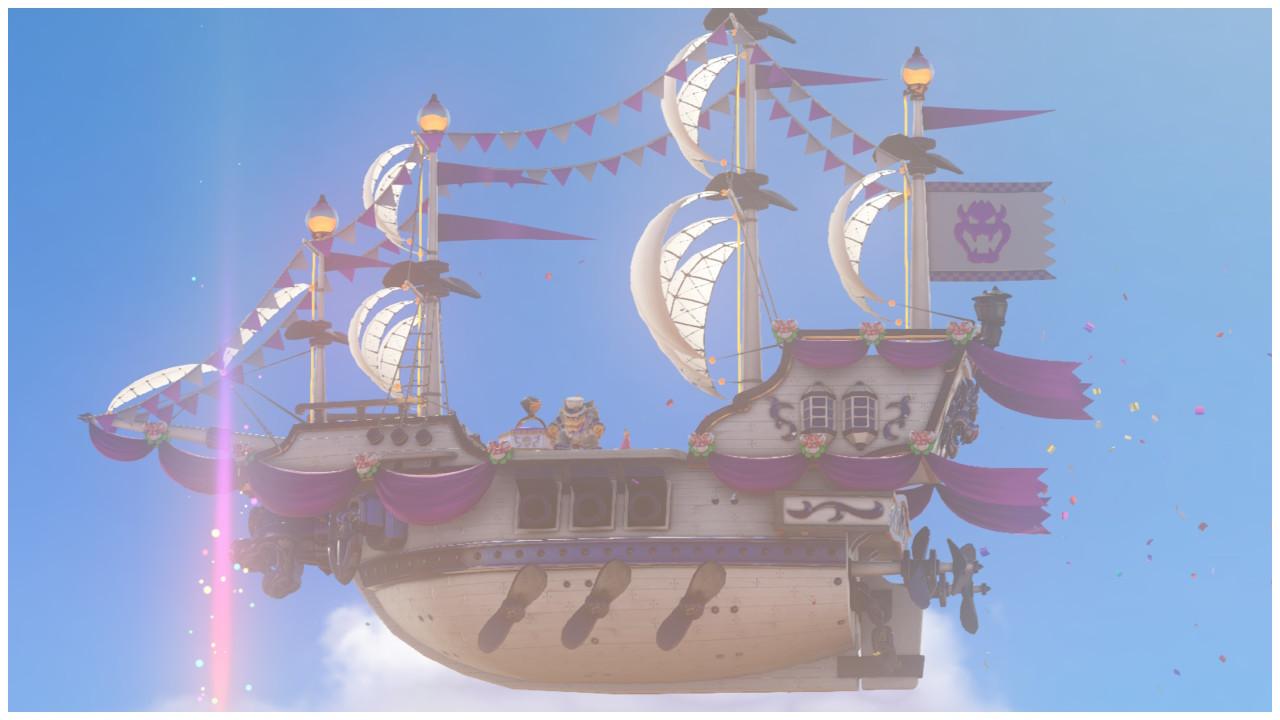 Mario Odyssey Bowser Ship By Ladyrosedoffy On Deviantart