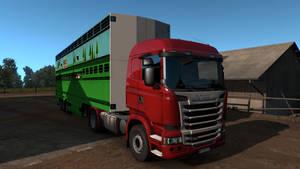 Euro Truck Livestock Trail