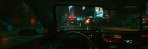 Cyberpunk 2077 Car View