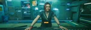 Cyberpunk 2077  Claire Russel
