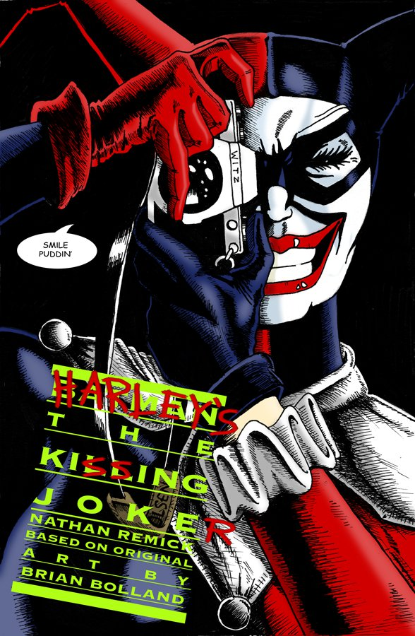 the KiSSing JokeR by Superbdude1