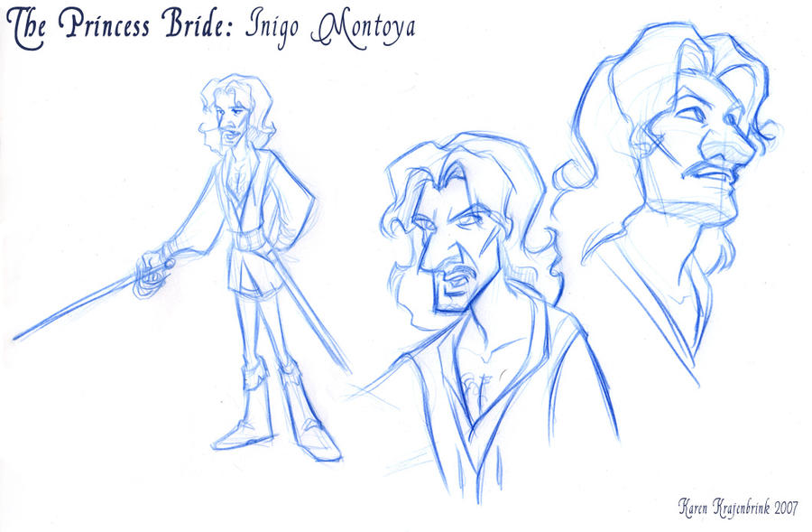 Princess Bride Inigo Montoya by kayjkay