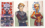 Star Wars Clone Wars Cards
