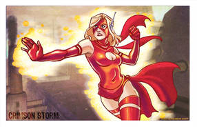 Crimson Storm by kayjkay