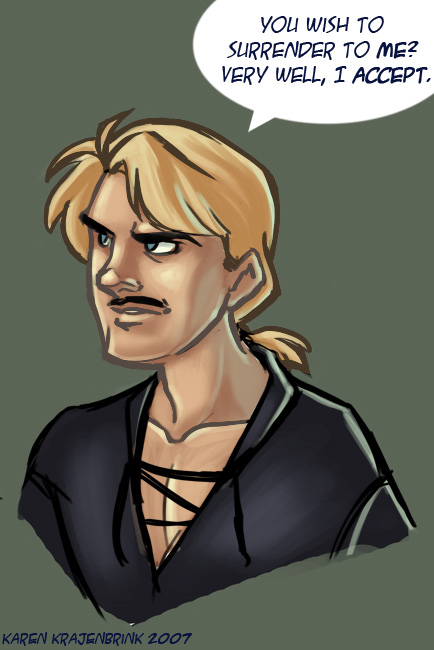 Westley from Princess Bride by kayjkay