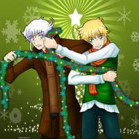 ARA Secret: Santa Decorando el arbolito by Conecoo