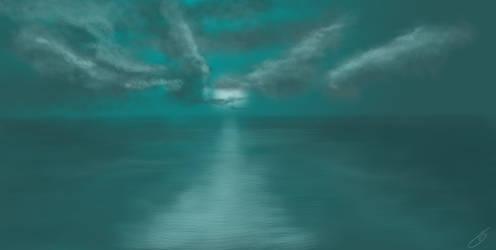 Ocean fastpaint