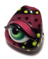 Evil Eye - Lampwork Glass by iJill