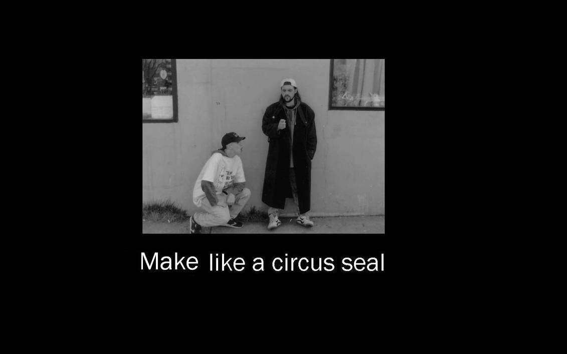 Jay And Silent Bob Circus Seal By Lunchbox5388 On Deviantart