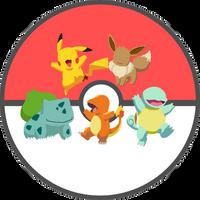 Pokemon Generation One Starters by LordReggieB