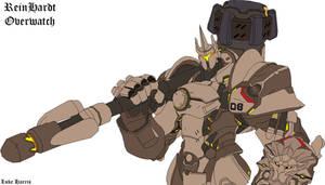Reinhardt from Overwatch by LordReggieB