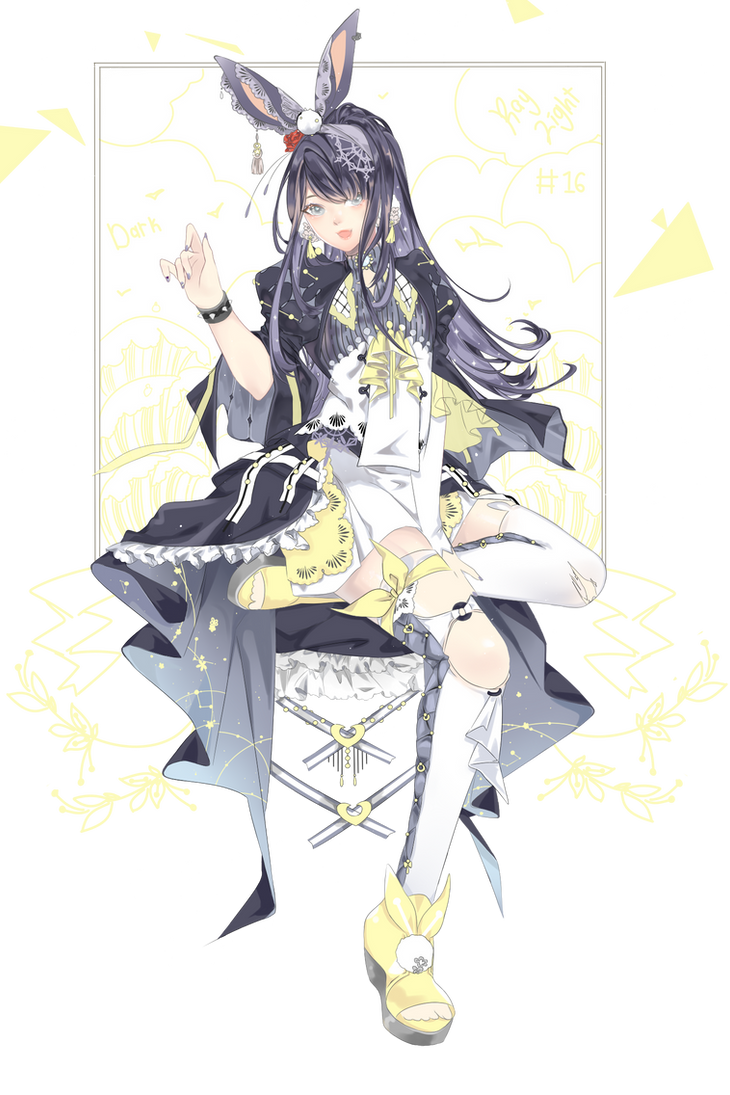 Dark Moon adoptable(closed) by Yukie94