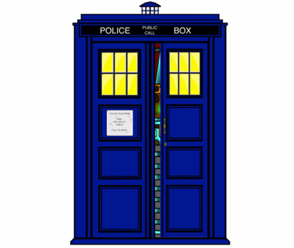 doctor who tardis door wallpaper