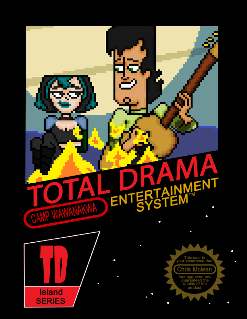 NINTENDO: NES TOTAL DRAMA by Silverhammer37