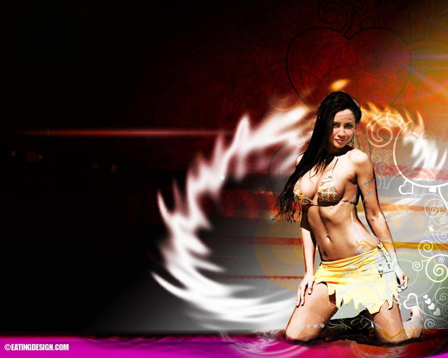 Hot Chick Pc Wallpaper By Liljj2432 On Deviantart