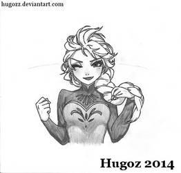 Queen Elsa - Coronation Dress by Hugozz