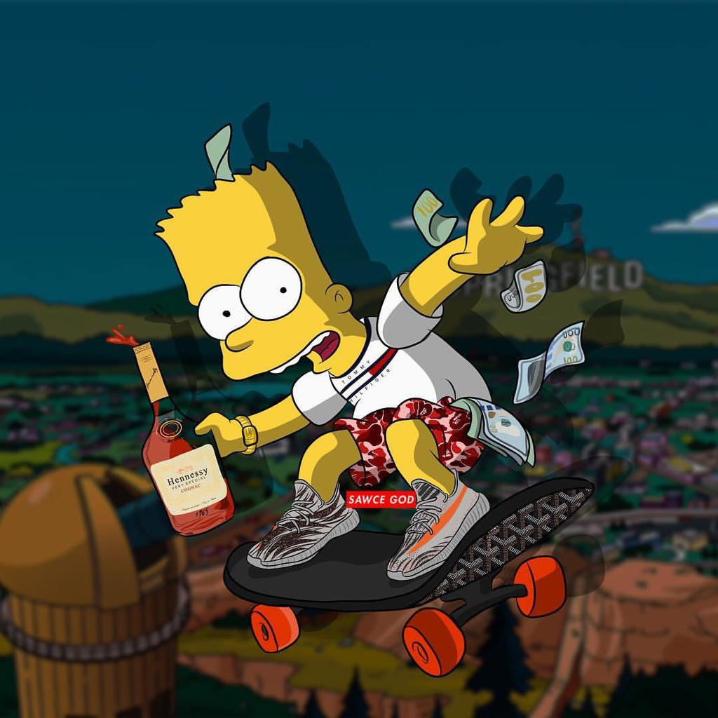 KHH6yDSe additionally Bart Simpson Fly Robbery 675698862 additionally Sticker Supreme Simpson Simsons Freetoedit 254607848008212 likewise Supreme Wallpapers likewise 2826897. on bape simpsons wallpaper cartoon