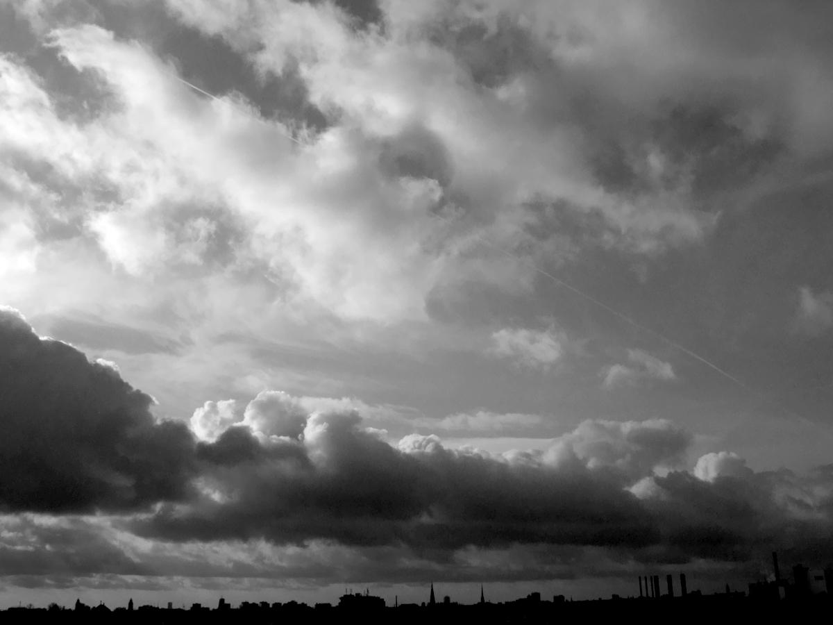 The Blue-Gray Sky