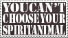 Spirit Animal Stamp by bucati