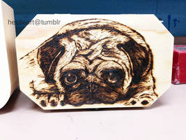 Pug Box by AngelsMelodie