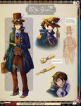 DGS OC Contest 2015 Entry: Allen Baker Part 1 by AngelsMelodie
