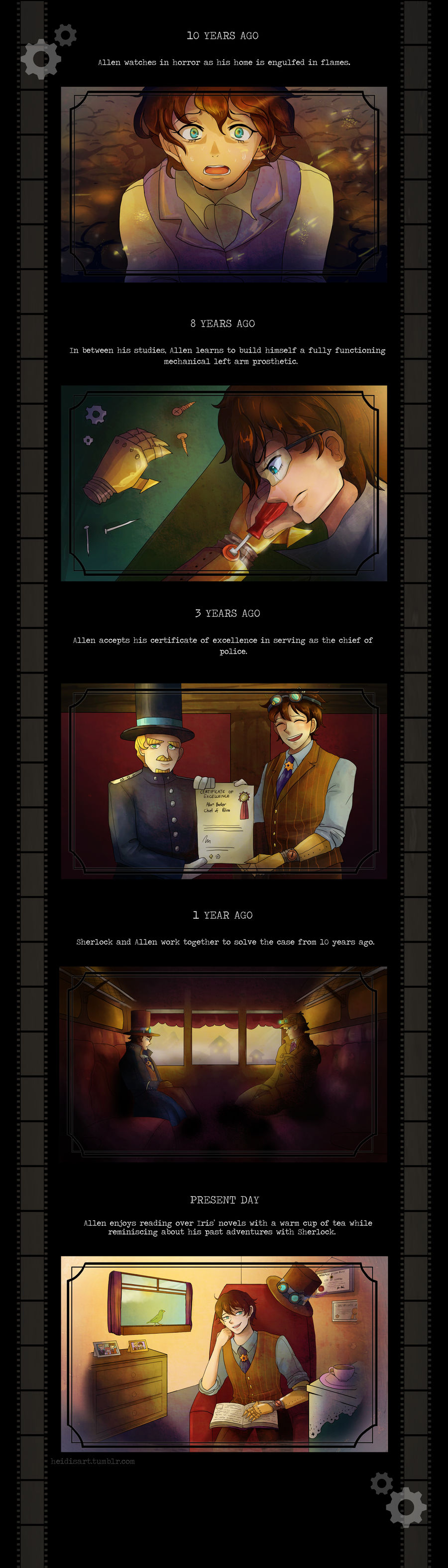DGS OC Contest 2015 Entry: Allen Baker Part 2 by AngelsMelodie