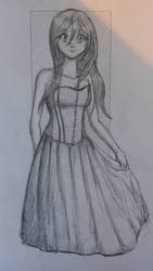 Girl with a Corset