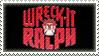 Wreck-It Ralph stamp