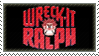 Wreck-It Ralph stamp by TSM-Draws