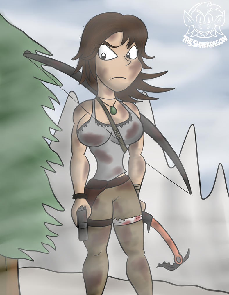 Lara Croft by TheSharkMaster